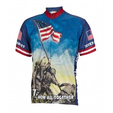 Iwo Jima Never Forget Cycling Jersey