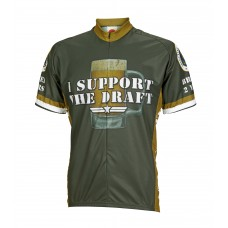 I Support the Draft Cycling Jersey
