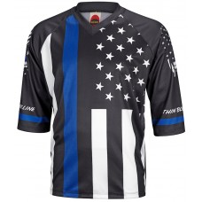 Thin Blue Line Mens Mountain Bike Jersey