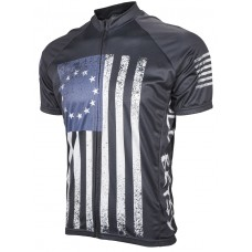 Old Betsy Flag Mens Cycling Jersey