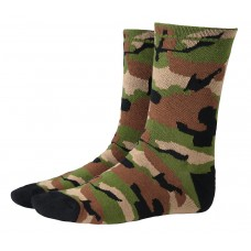 Camouflaged Mens Cycling Socks Camo