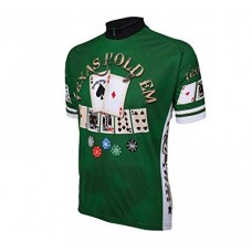 Texas Hold em Mens Cycling Jersey