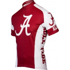 Alabama Crimson Tide Mens Cycling Jersey