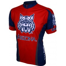 Arizona Wildcats Mens Cycling Jersey