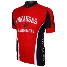 Arkansas Razorbacks Mens Cycling Jersey
