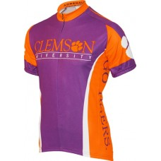 Clemson Tigers Mens Cycling Jersey