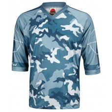 Outlaw Men's Mountain Bike Jersey Blue Camo