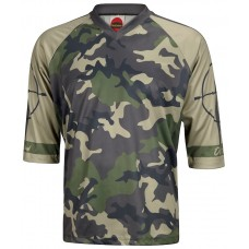 Outlaw Men's Mountain Bike Jersey Green Camo