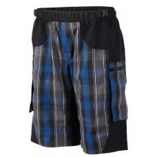 Outlaw Bullet MTB Short Blue Plaid