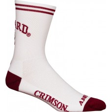 Harvard Cycling Socks White