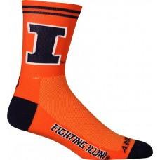 Illinois Cycling Socks