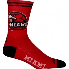 Miami Ohio Cycling Socks