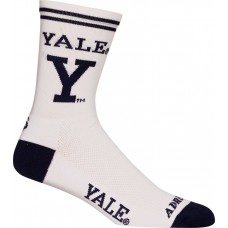 Yale Cycling Socks White