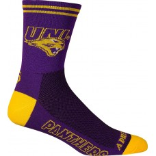 Northern Iowa UNI Cycling Socks