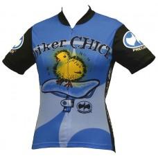 Biker Chick Jersey Blue