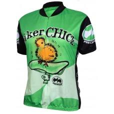 Biker Chick Jersey Lime