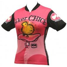 Biker Chick Jersey Pink