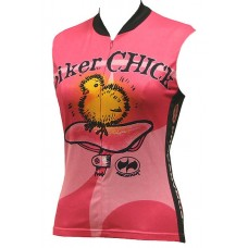 Biker Chick Sleeveless Jersey Pink